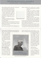 2014  South Africa Mandela Special Presentation Pack Complete - Unused Stamps