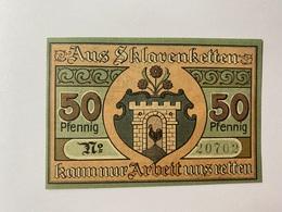 Allemagne Notgeld Kaltennordheim 50 Pfennig - [ 3] 1918-1933 : République De Weimar