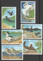 1997 Vanuatu - Birds Of Vanuatu MNH** MiNr. 1038 - 1043 Seagulls, Cormorant, Brown Booby, Pacific Reef Heron - Vanuatu (1980-...)