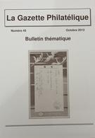 Revue Thématique N°45 : Entiers Postaux Russes De L'Impératrice Marie, Ganesh, Poste Locale De L'île Christmas, Bambou, - Motive