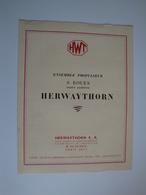 Automobile-   Plaquette Publicitaire(originale) Pour Ensemble Propulseur 6 Roues HERWAYTHORN à Paris - Automovilismo