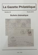 Revue Thématique N°43 : Poste Des Sous-marins Allemands (1916) Les Cartes De Vœux De La Poste Locale De Berlin, Timbres - Motive