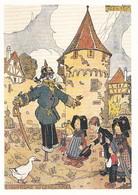 CP Illustrateur Hansi Alsace Merveilleuse L'uniforme De Gendarme - Hansi