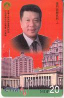 MACAU(chip) - Governor Of Macau, CN : 84MCU99F, 06/99, Used - Macau