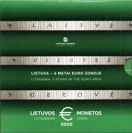 Lituanie 2020 : Coffret BU 8 Pièces (6.000 Exemplaires) - Disponible En France - Lituania