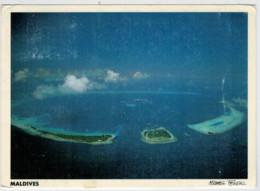 MALDIVES    KARAMATHI     2  SCAN     (VIAGGIATA) - Maldives