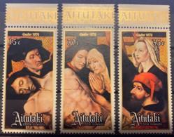 AITUTAKI - MNH** - 1976 - # 121/123 - Aitutaki