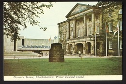 Province House - Historic Confederation Chamber - Charlottetown Prince Edward Island PEI Canada - Charlottetown