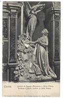 4361 - TORINO BASILICA DI SUPERGA MONUMENTO A MARIA VITTORIA DUCHESSA D' AOSTA SCULTORE DALLA VEDOVA 1910 CIRCA - Churches