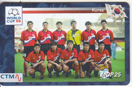 MACAU(chip) - FIFA World Cup 98 France/Korea, CN : 44MCU98D, 04/98, Used - Macau