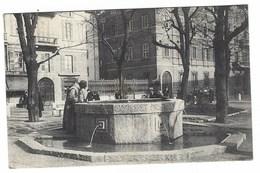4363 - MILANO PIAZZA SANT' ANGELO FONTANA DI S FRANCESCO ANIMATA 1928 - Milano (Milan)