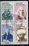 Chypre Turque - Cyprus - Zypern 1985 Y&T N°151 à 154 - Michel N°166 à 169 (o) - EUROPA - Se Tenant - Usati