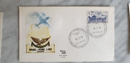 Onoranze Aviatore Succi Rimini 1970 Cancel Postmark Annullo - Aerei