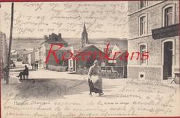 Hamoir Liege Entree Du Village Animee CPA RARE 1907 (En Très Bon état) (In Zeer Goede Staat) - Hamoir