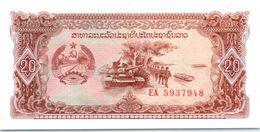 Billet Laos 20 Kip - Laos