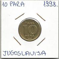 A2 YUGOSLAVIA 10 PARA 1998. KM#173 - Joegoslavië