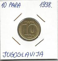 A6 YUGOSLAVIA 10 PARA 1998. KM#173 - Joegoslavië