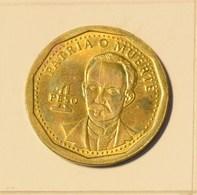 Cuba 2015 KM#347 Jose Marti 1 Peso Regular AUNC - Cuba