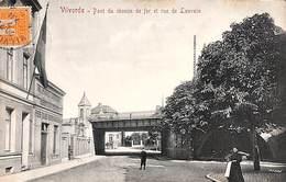 Vilvoorde - Pont Du Chemin De Fer Et Rue De Louvain (animatie, Uitg. V G 1912) - Vilvoorde