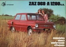 """08975 """"ZAZ 968-A 1200 C.C."""" PIEGH. ORIGINALE - Coches"""