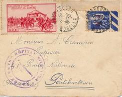 J63 - Marcophilie - Lettre - Chasseurs Cyclistes Pendant La Guerre - 1938 - Military Heritage