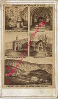 CDV Multivues Souvenir De Notre Dame Du Laus (Hautes Alpes) Photo Bonnet à Lyon - Old (before 1900)
