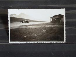 Photo Originale -  Automobile Au Col D'Envalira - Refuge De Fray Miquel - Format 11*7 Cm Env. - Photos