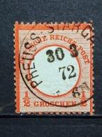 Deutsche Reich Brustschild Mi-Nr. 3  Gestempelt - Germania
