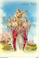 CPM Joyeuses Paques - Pâques