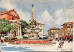 MONTECATINI - Piazza Umberto I - Quadro Di Aldo Raimondi - Italia