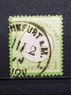 Deutsche Reich Brustschild Mi-Nr. 23  Gestempelt - Germania