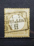 Deutsche Reich Brustschild Mi-Nr. 6  Gestempelt - Germania