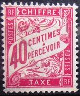FRANCE                               TAXE 35                          OBLITERE - Taxes