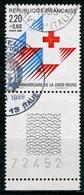 """N°YT 2555 - """"Croix-Rouge"""" 1988 - Usados"""