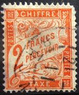 FRANCE                               TAXE 41                          OBLITERE        2° CHOIX - Taxes