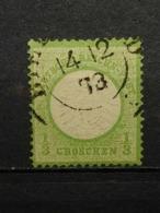 Deutsche Reich Brustschild Mi-Nr. 17  Gestempelt - Germania