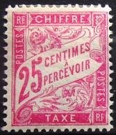FRANCE                               TAXE 32                          NEUF* - 1859-1955 Neufs