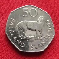 Falkland  Islands 50 Pence 2003 KM# 135  Malvinas Malwinen - Falkland Islands