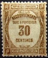 FRANCE                               TAXE 57                          NEUF* - 1859-1955 Neufs
