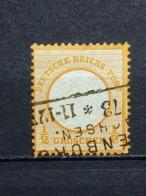 Deutsche Reich Brustschild Mi-Nr. 18  Gestempelt - Allemagne