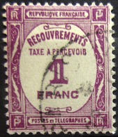 FRANCE                               TAXE 59                          OBLITERE - Taxes