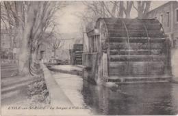 Bx - Cpa L'ISLE Sur SORGUE - La Sorgue à Villevielle - L'Isle Sur Sorgue