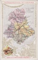 Bx - Cpa Les Départements : HAUTE VIENNE (Edition De La Chocolaterie D'Aiguebelle) - Zonder Classificatie