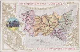 Bx - Cpa Les Départements : VOSGES (Edition De La Chocolaterie D'Aiguebelle) - Zonder Classificatie