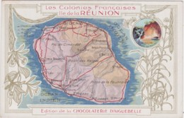 Bx - Cpa Les Colonies Françaises : Ile De La REUNION (Edition De La Chocolaterie D'Aiguebelle) - Sin Clasificación