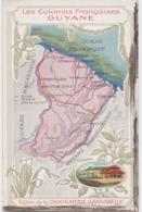 Bx - Cpa Les Colonies Françaises : GUYANE (Edition De La Chocolaterie D'Aiguebelle) - Sin Clasificación