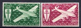 GUYANE (Colonie Française) - 1945 - P.A. - N° 26 Et 27 - (Série De Londres) - Nuovi