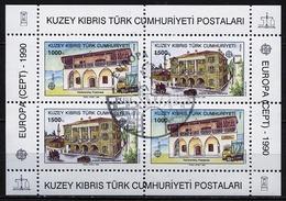 Chypre Turque - Cyprus - Zypern Bloc Feuillet 1990 Y&T N°BF8 - Michel N°B8 (o) - EUROPA - Usati