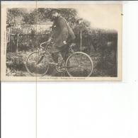 88-THAON LES VOSGES MADAME DELAIT EN BICYCLETTE - Thaon Les Vosges