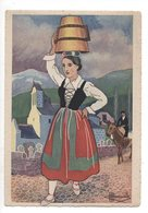 TARDETS - En Parcourant Le Pays Basque - Jeune Fille En Costume De Fête - Illustrateur Charles Homualk - Autres Communes